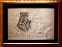 "Dynasty/ Etching with Embossing/ 26""X39"" unframed $995/ 37""X49"" framed $1595/ Free Shipping to USA"