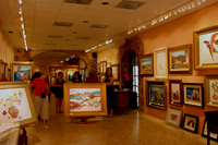 center of gallery