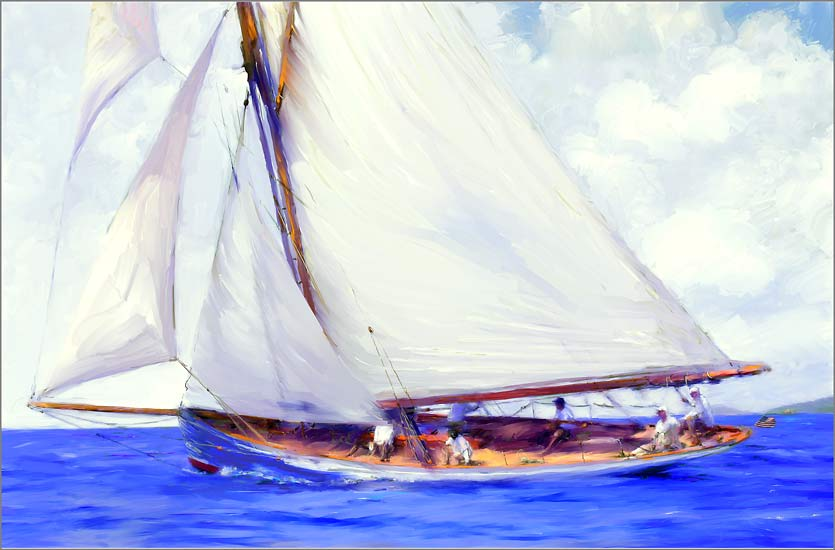 Waving the Flag : Boats : Jonna White Gallery